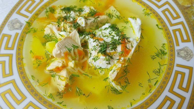 Диетический куриный суп: лучшие рецепты с фото