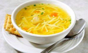 фото диетического куриного супа с вермишелью