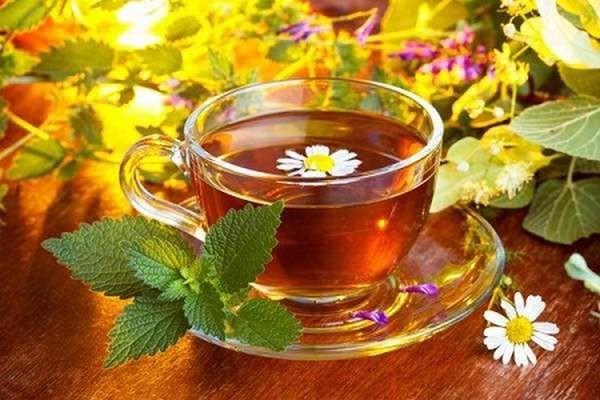 Чай с имбирем и травами для похудения и омоложения