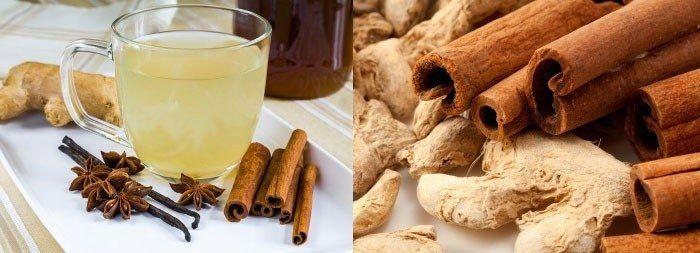 Чай с имбирем и корицей, чтобы похудеть быстро