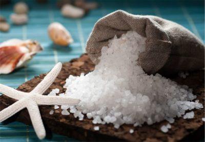 Добавление в уксус морской соли