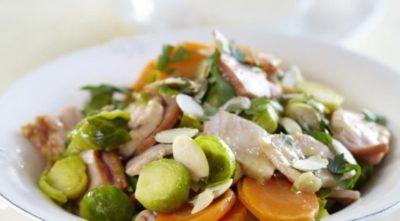 Диетическое рагу овощное с курицей, приготовленное в духовке
