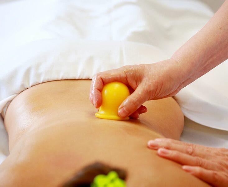 баночный массаж убирает целлюлит
