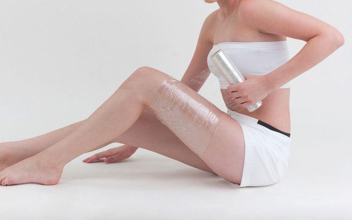Обертывание с меновазином для похудения