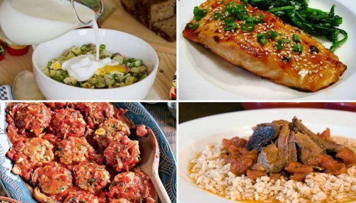 Рецепты диетических вторых блюд с фото для диет и похудения