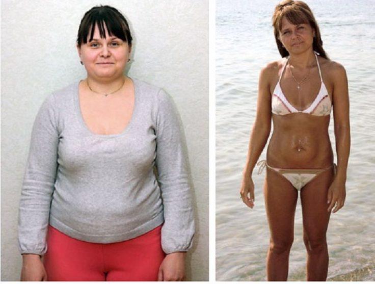 Ирина похудела на водной диете на 20 кг
