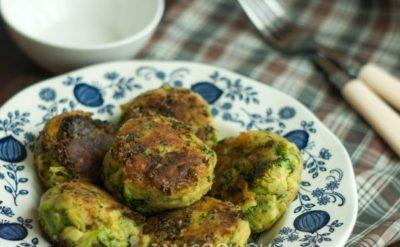 Низкокалорийные овощные котлеты с брокколи для диеты