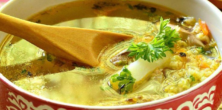Суп рыбный диетический из консервы