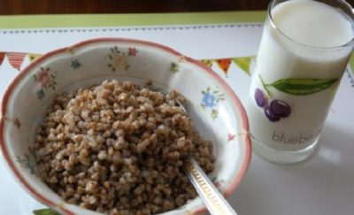 Диета на гречке и кефире на 3 дня