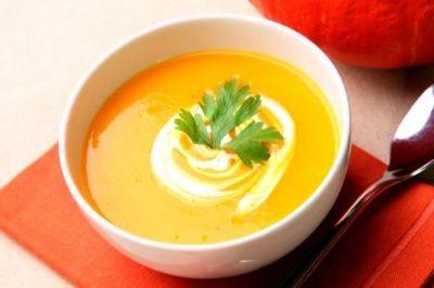 Тыквенный крем-суп для диеты француженки