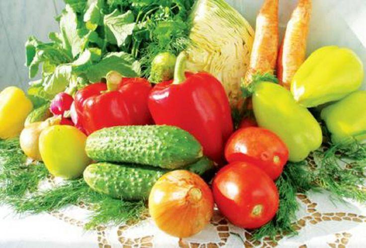 Набор овощей для 3 и 4 дня летней диеты