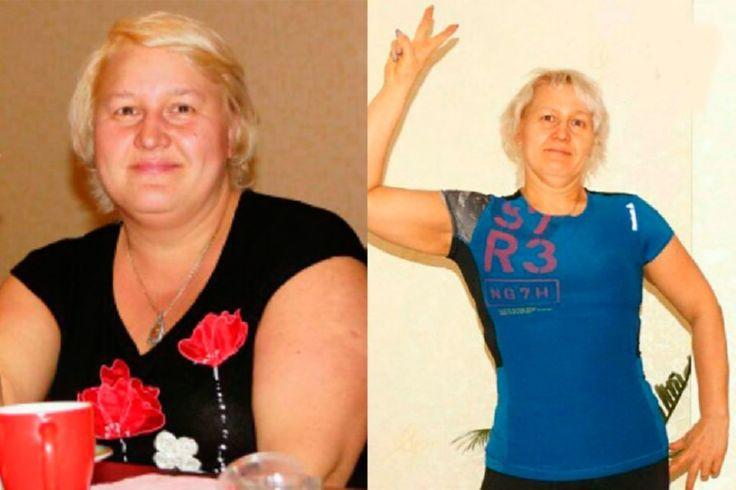 фото до и после разгрузок через год