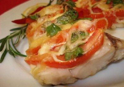 Французы едят рыбу на диете