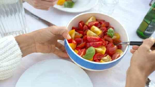 Меню диеты с блюдами из помидор