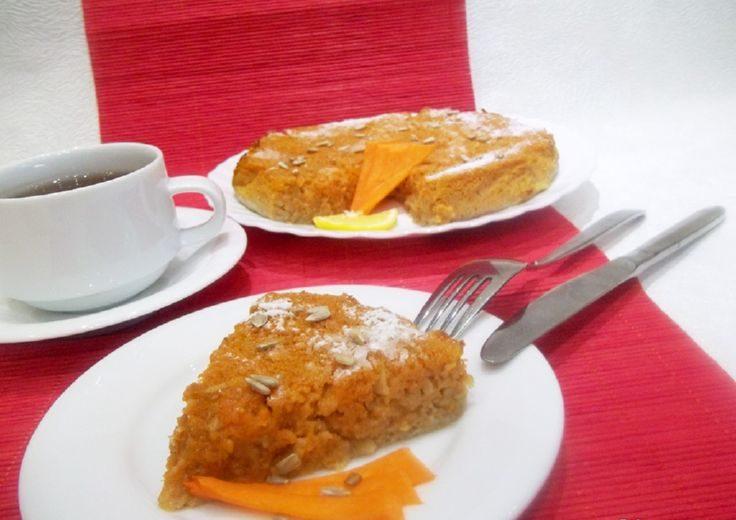 Яблочно-тыквенная запеканка на десерт при диете