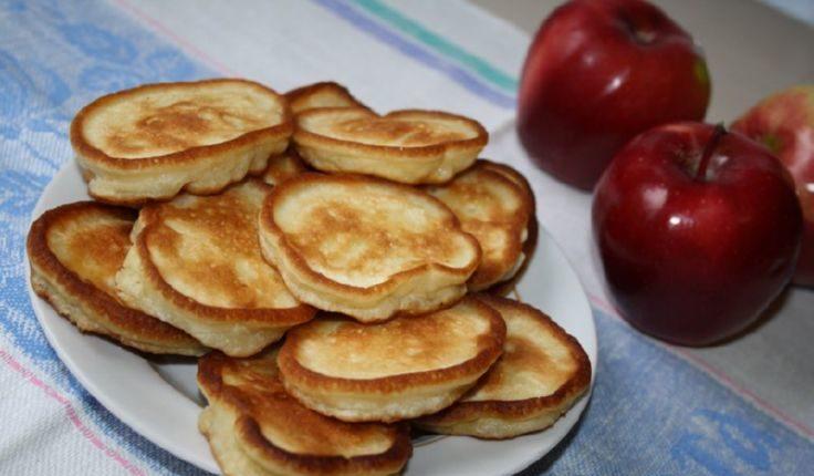 Десертные яблочные оладьи на диете