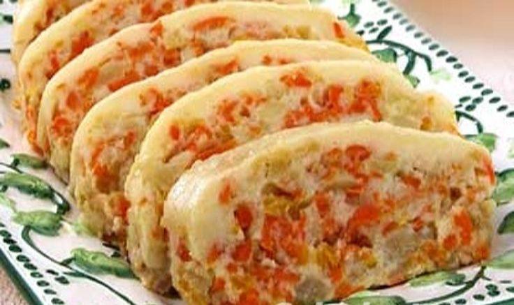 Десерт из моркови и яблок для диеты