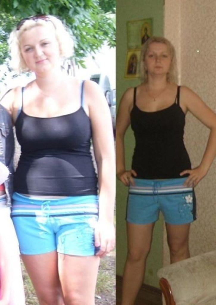 Фото до и после диеты Протасова