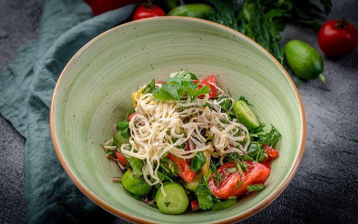 Салат с сыром для диеты Протасовки