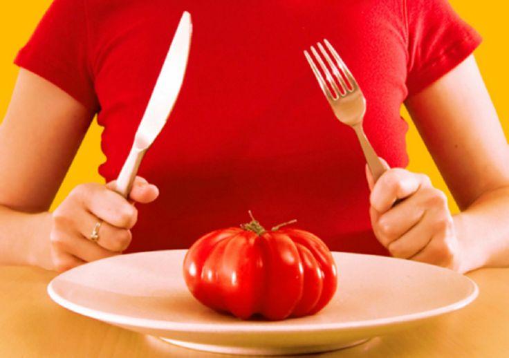 Как худеть на помидорах