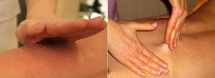 Техника массажа с медом