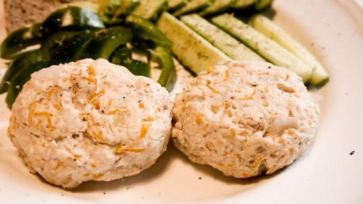 Рецепт куриных котлет с сыром на пару