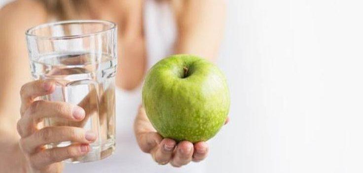 Яблочный день вариант с водой
