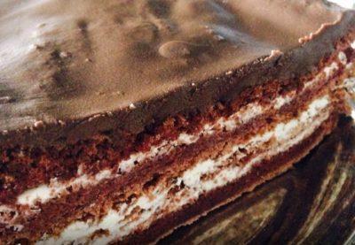 Диетический шоколадный торт ПП