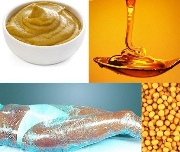 Похудение на обертывании с горчицей
