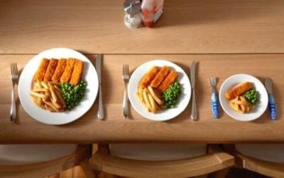 Похудеть после праздника с помощью уменьшения порций