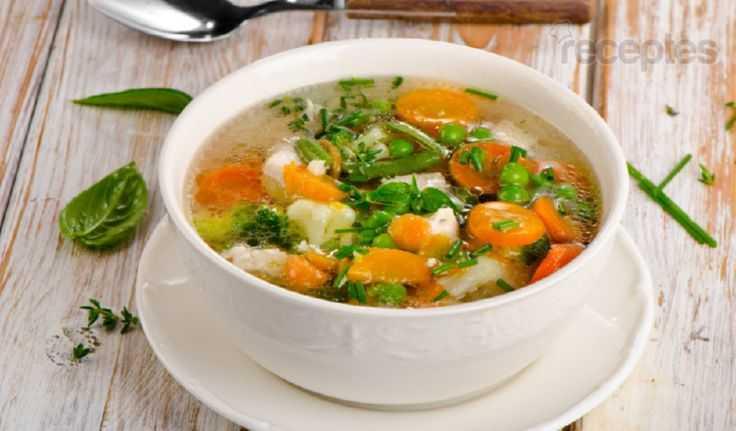 Овощной суп ПП