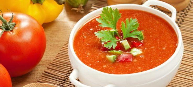 Овощной суп Гаспачо диетический