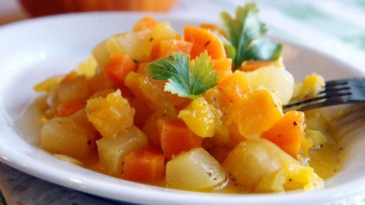 Рецепт овощного рагу с тыквой