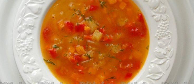 Овощной суп из тыквы и кабачков диетический