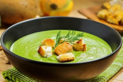 Диетический суп-пюре овощной