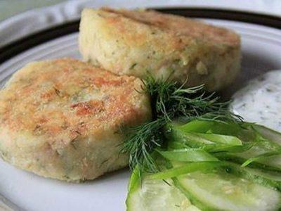 Рыбные котлеты диетические рецепты с фото