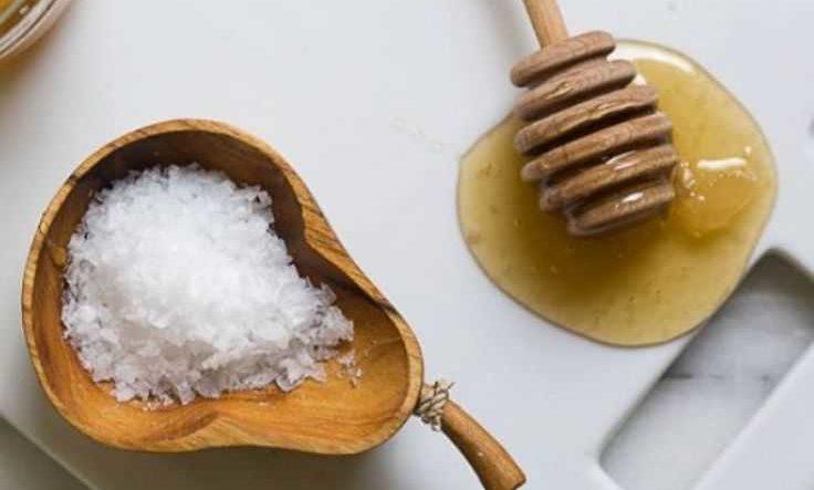 медовое обертывание с солью
