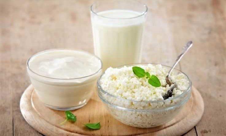 Диеты с йогуртом, кефиром и творогом