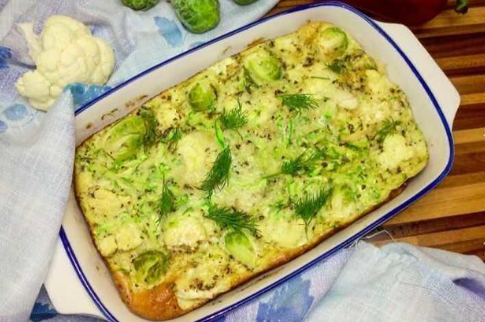диетические блюда из кабачков в духовке