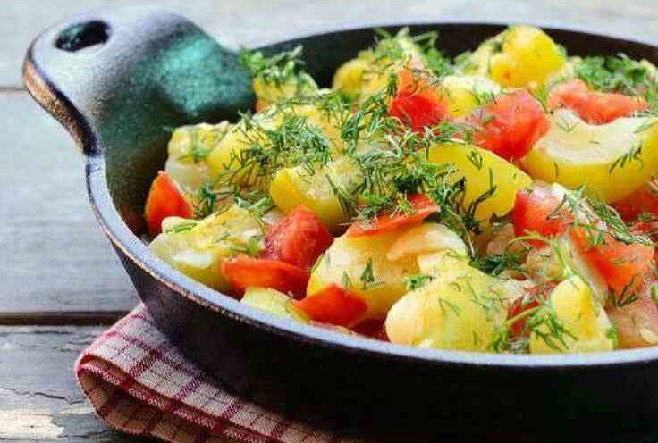 Диетическое блюдо с кабачками