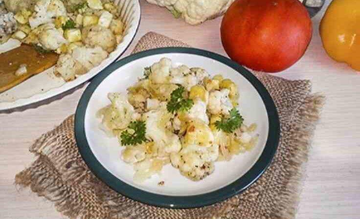 Полезное диетическое блюдо с кабачками