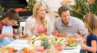 Семейный диетический ужин
