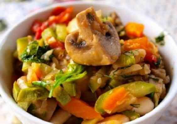 Рецепт с грибами для белковой диеты