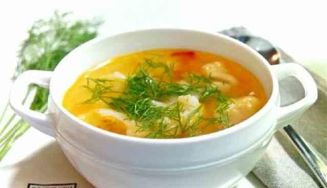 Гороховый суп с курицей и кабачком