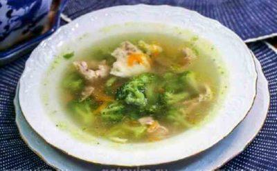 Суп для белковой диеты