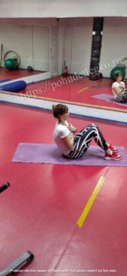 Упражнение на похудение и пресс