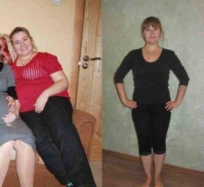 Фото до и после диеты медиков 14 дней