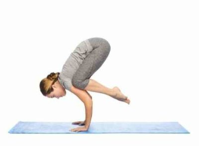 Йога для похудения асана Бакасана