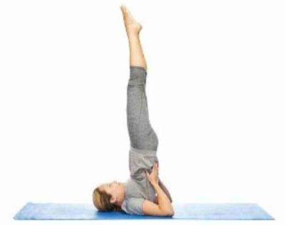Асана йоги стойка