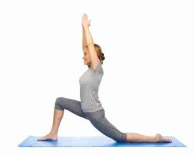 Йога для похудения асана выпад
